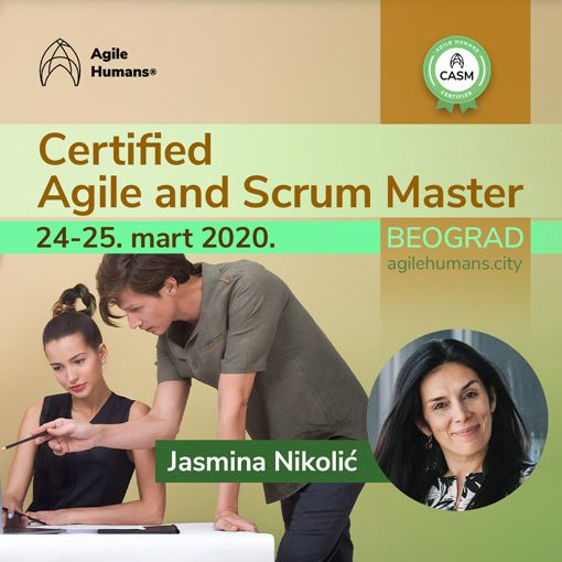 CERTIFIED AGILE AND SCRUM MASTER