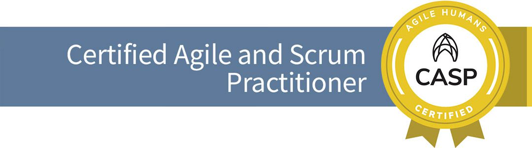 CERTIFIED AGILE AND SCRUM PRACTITIONER OBJEDINJENA